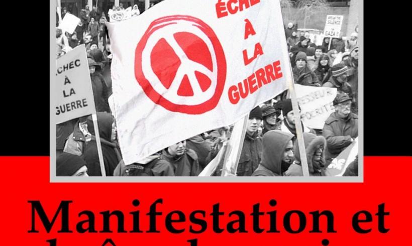 Manifestation du 18 octobre 2008: Chaîne humaine – Troupes canadiennes hors d'Afghanistan