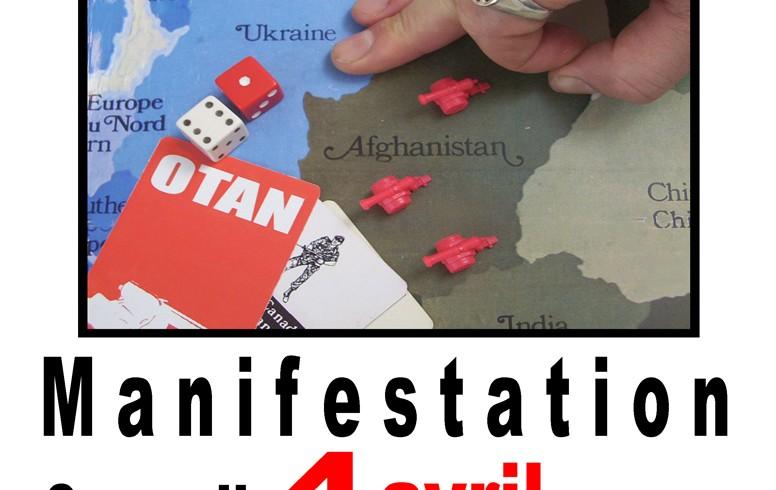 Invitation – Manifestation le 4 avril 2009 : le Canada et l'OTAN, hors d'Afghanistan!