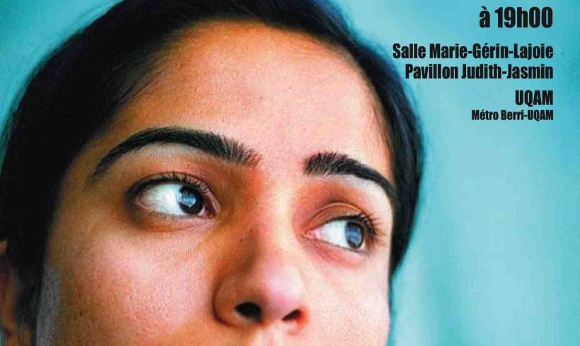 Invitation: 24 novembre 2009 – conférence de Malalai Joya à Montréal