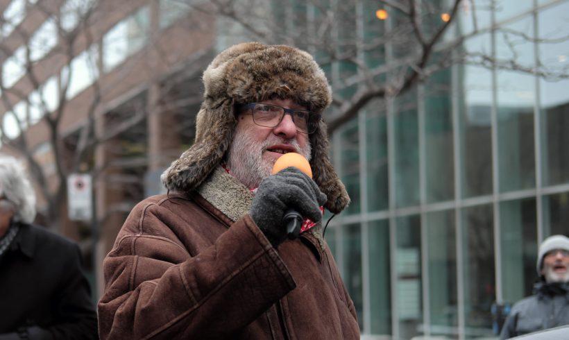 Discours prononcé le 25 janvier 2020 par Bill Sloan, Mouvement québécois pour la paix