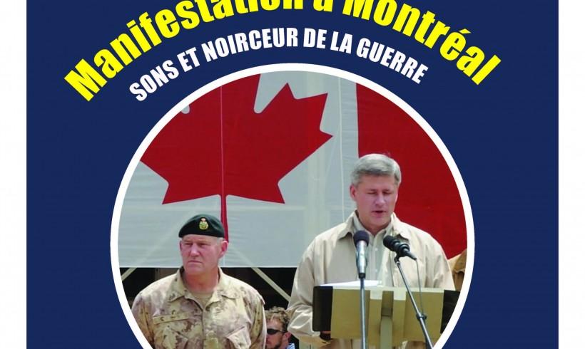 Rassemblement du 9 avril 2011 « Sons et noirceur de la guerre »