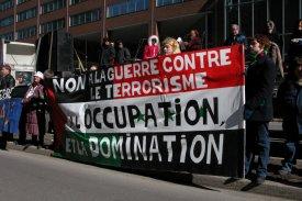 Manifestation - Montréal le 10 août 2014