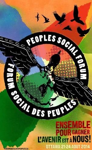 Le Collectif Échec à la guerre sera présent au Forum social des peuples, 21-24 août 2014