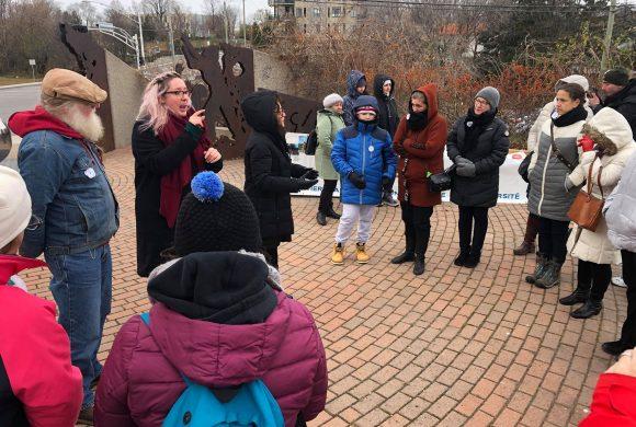 Photos de la vigile du 11 novembre 2019 à Gatineau -au monument pour la Paix