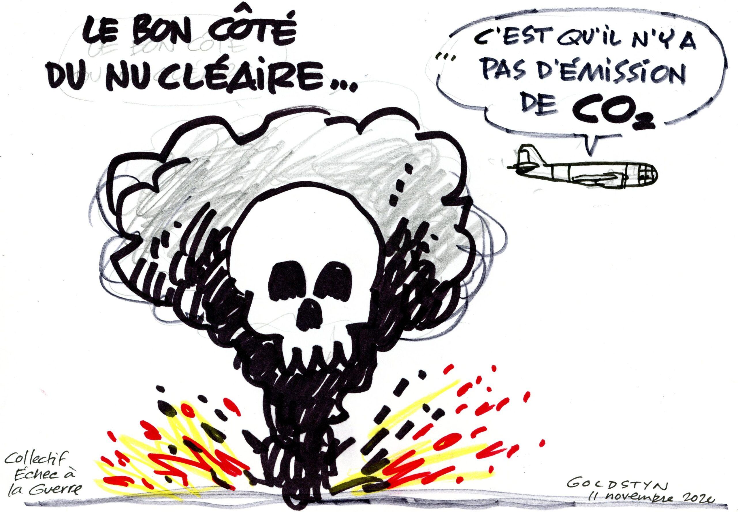Nucléaire ... pas d′émission de CO2? Jacques Goldstyn 11-11-2020
