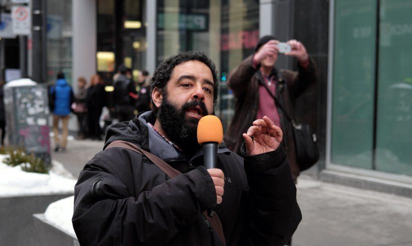 Discours prononcé le 25 janvier 2020 par Mostafa Henaway, International League for Peoples' Struggle ILPS