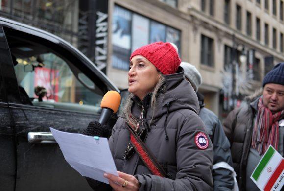 Discours prononcé le 25 janvier 2020 par Saïdeh Khadir, du Congrès irano-canadien