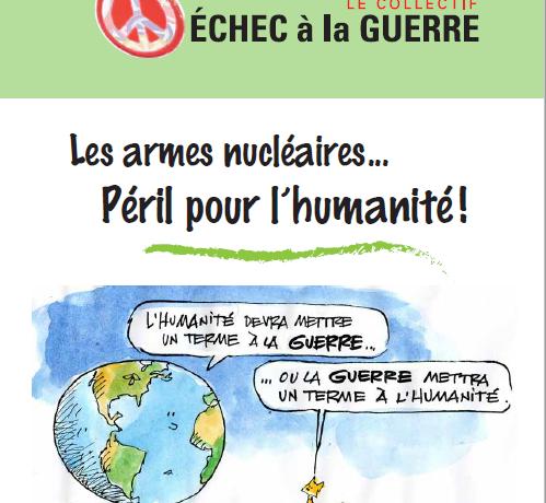 Fascicule « Les armes nucléaires : Péril pour l'humanité ! »