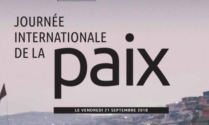Cahier spécial Paix: La campagne 2018 du coquelicot blanc dans le Devoir