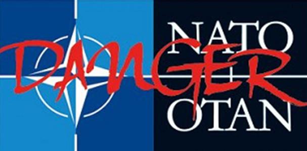 Non à la guerre – Non à l'OTAN